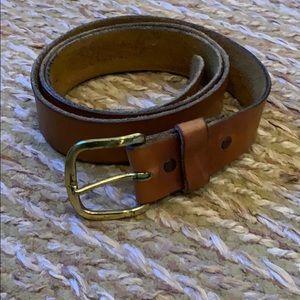 """Harness cowhide belt 47"""""""